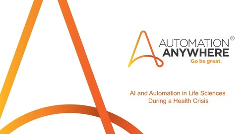 Leveraging AI and Automation in Life Sciences during a Health Crisis(EN)