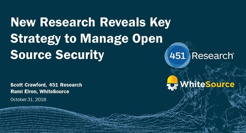 New Research Reveals Key Strategy to Manage Open Source Security