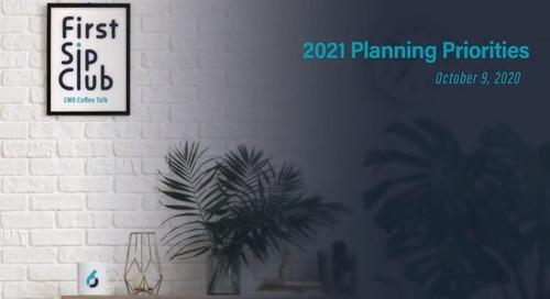 2021 Planning Priorities