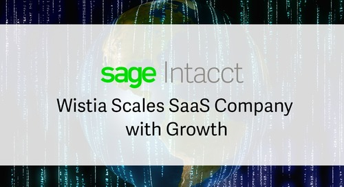 Wistia Scales with SaaS Growth Using Sage Intacct