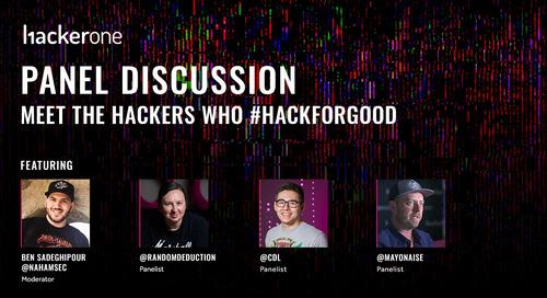 Meet the Hackers who #HackForGood
