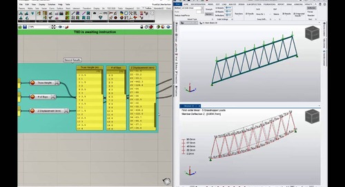 Parametric Workflows with Tekla Structural Designer