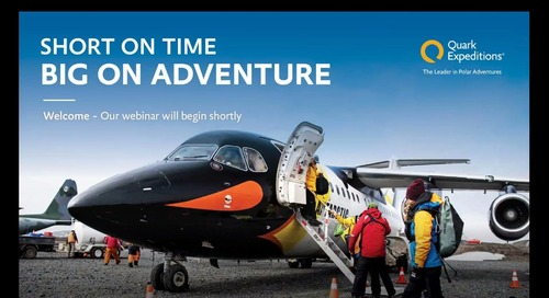 Fly/Cruise: Your Client's Fast Pass to the Heart of the Polar Regions
