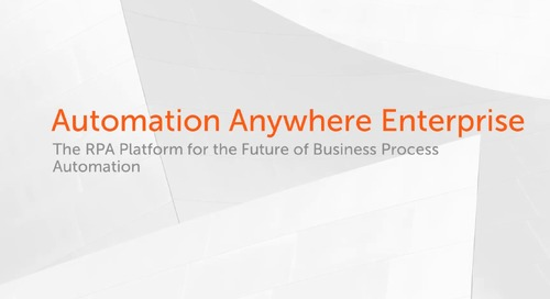 Automating Insurance Claim using Automation Anywhere Enterprise on Microsoft Azure with MS Dynamics and MS Access