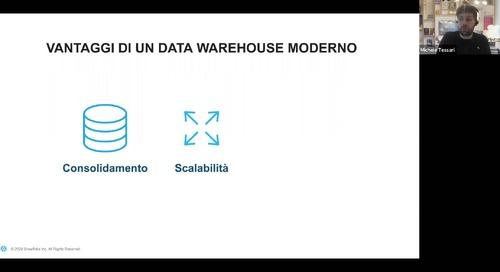 Webinar - Snowflake Data Platform per un Data Warehouse moderno