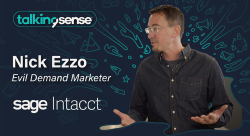 Enabling Personalized Marketing with Nick Ezzo - Evil Demand Marketer at Sage Intacct