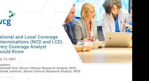 National and Local Coverage Determinations (NCD and LCD) Every Coverage Analyst Should Know