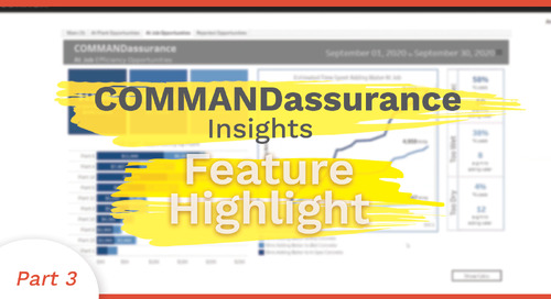 At Job Efficiency Opportunity | COMMANDassurance Feature Highlight
