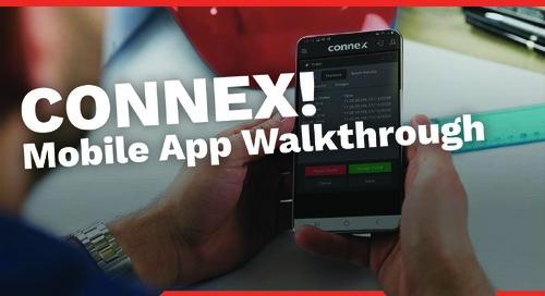 CONNEX - Walk Through the MOBILE App