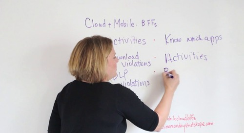 Movie Line Monday — Mobile + Cloud = BFFs 4Ever