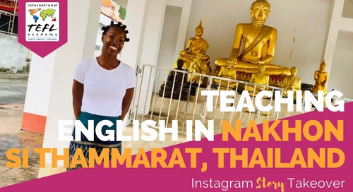 Day in the Life Teaching English in Nakhon Si Thammarat, Thailand with Mackenzi Bell-Nugent
