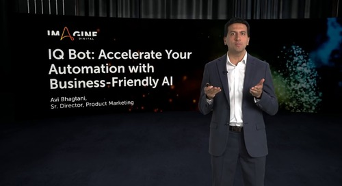 IQ Bot: Accelerate your Automatoin with Buisness-friendly AI