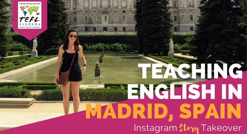 Day in the Life Teaching English in Madrid, Spain with Julie Jessup