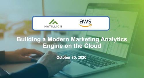 IDG Webinar-Building a Modern Marketing Analytics Engine on the Cloud