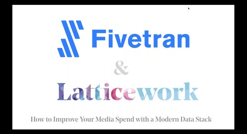 How to Improve Your Media Spend with a Modern Data Stack