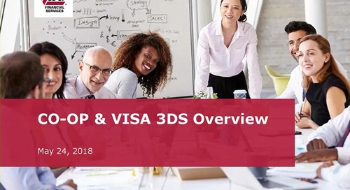 CO-OP and VISA 3DS Overview