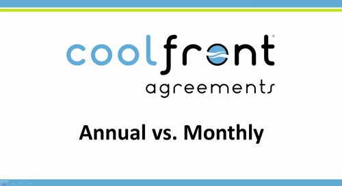 Coolfront Agreements - Annual vs Monthly