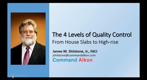 #2 - The 4 Levels of Quality Control From House Slabs to High-rise