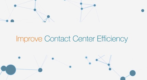 Contact Center Efficiency
