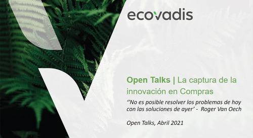 Open Talks: ¿Cómo innovar en Compras desde la óptica de la sostenibilidad?