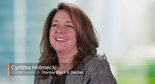 Stanley Black & Decker Uses RPA Automation to Meet Goal of $22B by 2022
