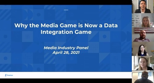 Industry Panel: Why the Media Game is Now a Data Integration Game