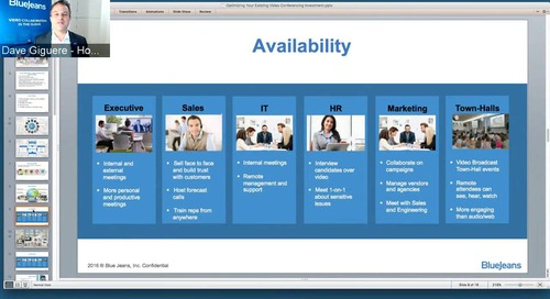 EMEA Videocast - Optimizing Your Existing Video Conferencing Investment