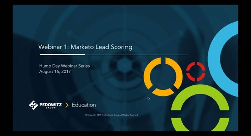 Hump Day Webinar Series - Marketo Lead Scoring