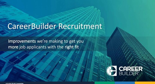 Hire Smarter, Better, And More Efficiently With CareerBuilder
