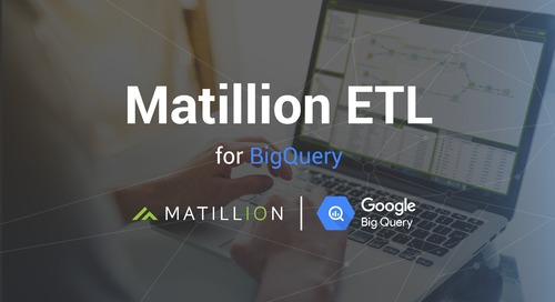 Introducing Matillion ETL for BigQuery