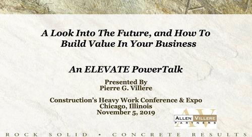 Allen-Villere Partners Teaches How to Grow Value Through Efficiency