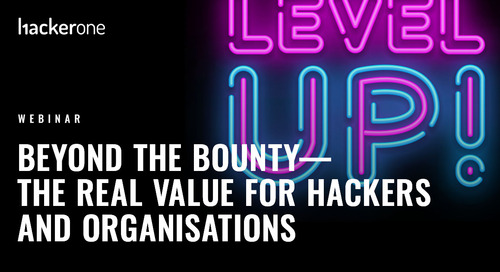 Beyond the Bounty - the real value for Hackers and Organisations