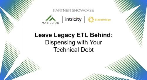 Partner Showcase [Intricity and Bladebridge] - Leave Legacy ETL Behind