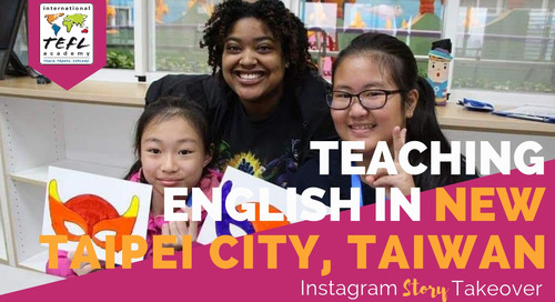 Day in the Life Teaching English in New Taipei City, Taiwan with Krystle Cotten