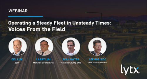 Operating a Steady Fleet in Unsteady Times
