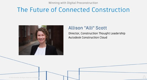 Winning with Digital Preconstruction: The Future of Connected Construction