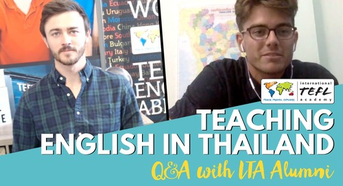 Teaching English Online & In-Person in Thailand - Alumni Q&A with Charles Seaton