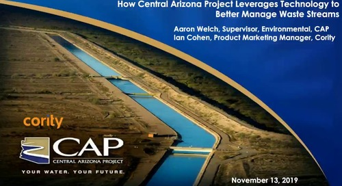 How Central Arizona Project Leverages Technology to Manage Waste Streams