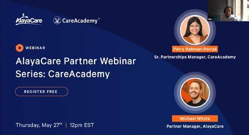 CareAcademy - Partner Webinar Series