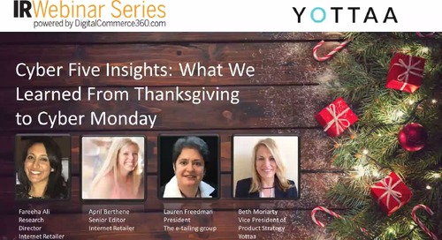 2018 Internet Retailer Holiday Webinar