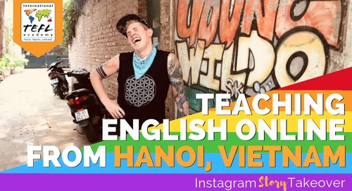 Day in the Life Teaching English Online from Hanoi, Vietnam with Sean