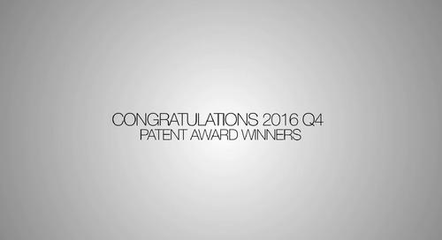Patent Winner Video Q4 2016