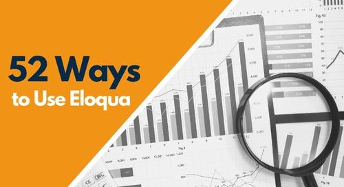 Evaluating Data Quality in Eloqua
