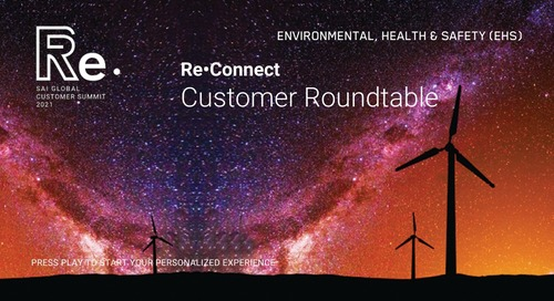 Re•Connect | EHS Customer Roundtable