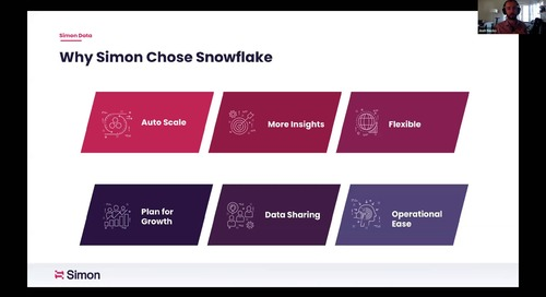 Snowflake & Simon Lunch & Learn: Connect your Analytics to Action