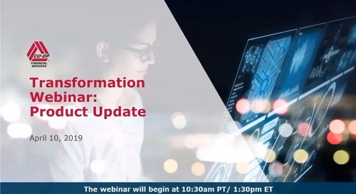 Transformation Webinar Product Organization April 2019
