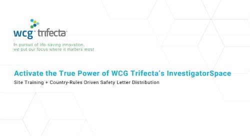 Activate the True Power of WCG Trifecta's InvestigatorSpace