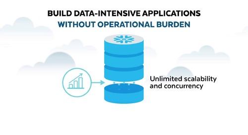 Snowflake per data applications