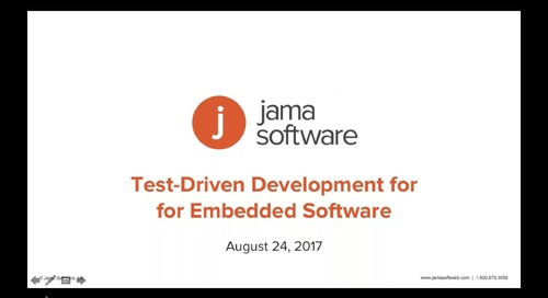Test-Driven Development for Embedded Software - Jama Software