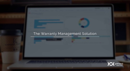 The Appirio Warranty Management Solution